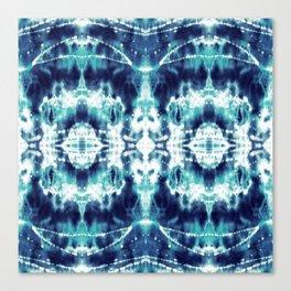 Celestial Nouveau Tie-Dye Canvas Print