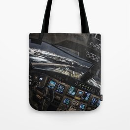 32R Clear to land Tote Bag