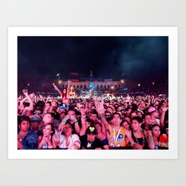 Kinetic Field Art Print