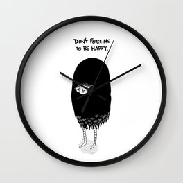 Mopey Wall Clock