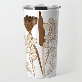 Seeds and Pods Travel Mug