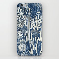 Indigo cacti iPhone & iPod Skin