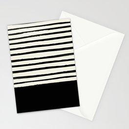 Black x Stripes Stationery Cards