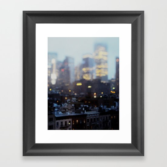 Big City Little Stories. Framed Art Print