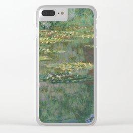 Claude Monet - Le Bassin Aux Nympheas Harmonie Verte Clear iPhone Case