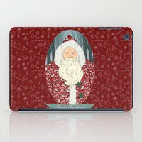 santa iPad Cases featuring Santa by Beesants
