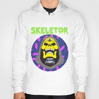 skeletor Hoodies featuring Skeletor by Michael Keene