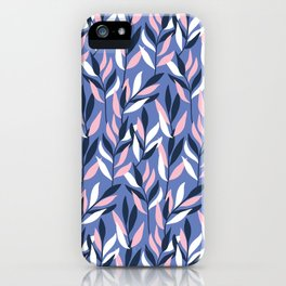 Graphic Leaves iPhone Case