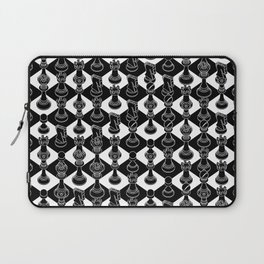 Isometric Chess BLACK Laptop Sleeve