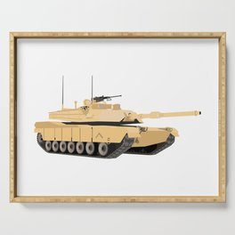 M1A1 Abrams Tank Serving Tray