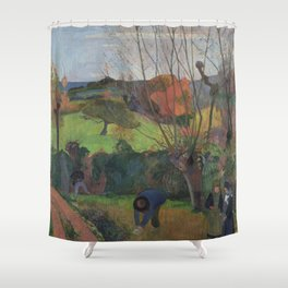 The Willow Tree Shower Curtain