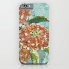 Orange Zinnias Slim Case iPhone 6s