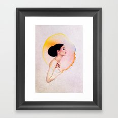 Bubble Of Happiness Framed Art Print