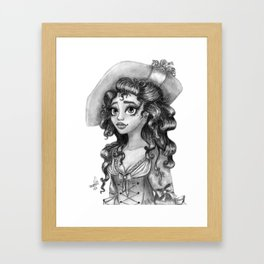 Carlotta Framed Art Print