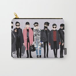 BTS airport fashion Carry-All Pouch