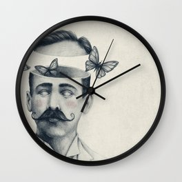 Disorientation Wall Clock