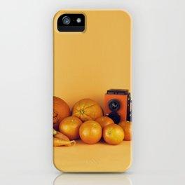 Orange carrots - still life iPhone Case