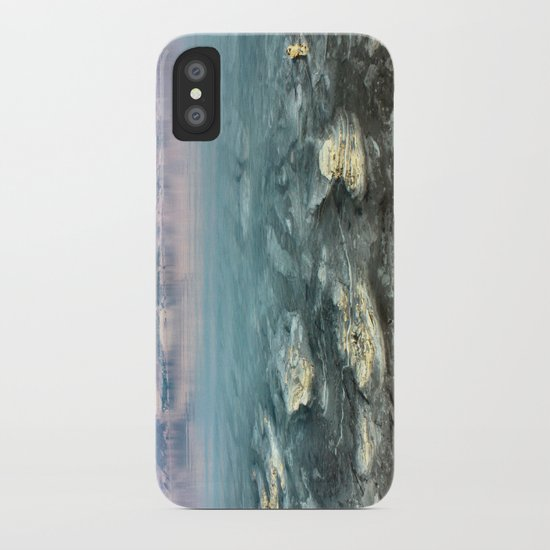 Walking on the moon iPhone Case