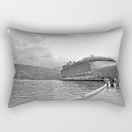 Vacation Transportation Rectangular Pillow