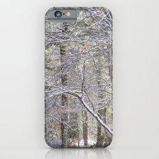 snowy road  Slim Case iPhone 6s