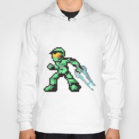 master chief Hoodies featuring master chief by Walter Melon