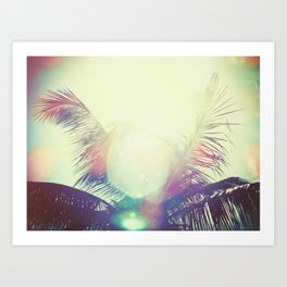 Good bye summer 1 Art Print