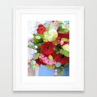 heaven Framed Art Prints featuring Heaven by Joke Vermeer