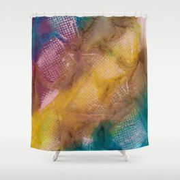 Abstract No. 345 Shower Curtain