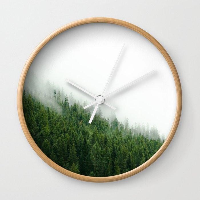 Wild And Free Wall Clock By Holgajen Society6