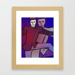 Spaceball Ricochet Framed Art Print