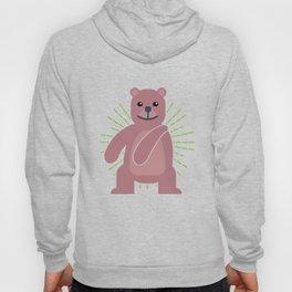 Floss Dance Move Bear Hoody