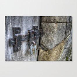 Lock N Latch Canvas Print