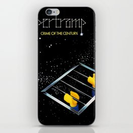 Supertramp - Crime of the Century but with Emmet iPhone Skin