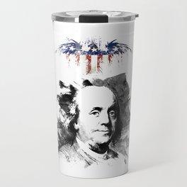 Benjamin Franklin Travel Mug