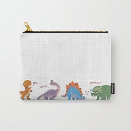 Potty Mouth Dinos Group Carry-All Pouch