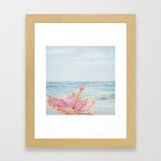 The Blue Dawn Framed Art Print