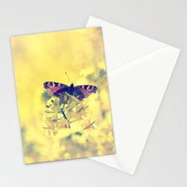 Sunshine and Butterflies Stationery Cards