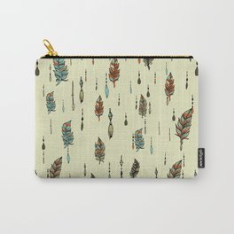 V36 BOHO ANTHROPOLOGIE STYLE PATTERN Carry-All Pouch