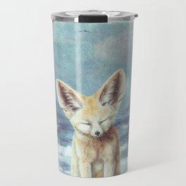 A Fennec's Dream Travel Mug