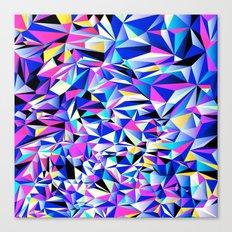 Pink & Blue No. 1 Canvas Print