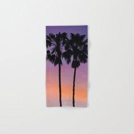 Purple Palms Hand & Bath Towel