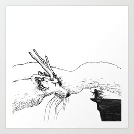 The Encounter Art Print
