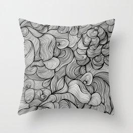 wave dream Throw Pillow