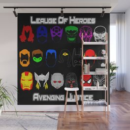 Avenging Justicee Wall Mural