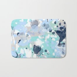 Riley - abstract gender neutral nursery home office dorm decor art abstract painting Bath Mat
