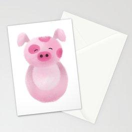 Pig Nursery Art Stationery Cards