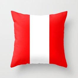 flag of austria 4 -,Österreich,Austrian,Österreicher,Vienna,Salzburg,Mozart, Schoenberg Throw Pillow