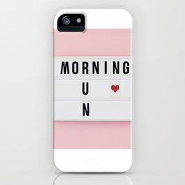 Motivation box iPhone Case