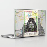 utah Laptop & iPad Skins featuring Utah by Ursula Rodgers