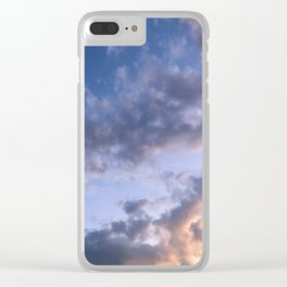 Evening Glow Clear iPhone Case